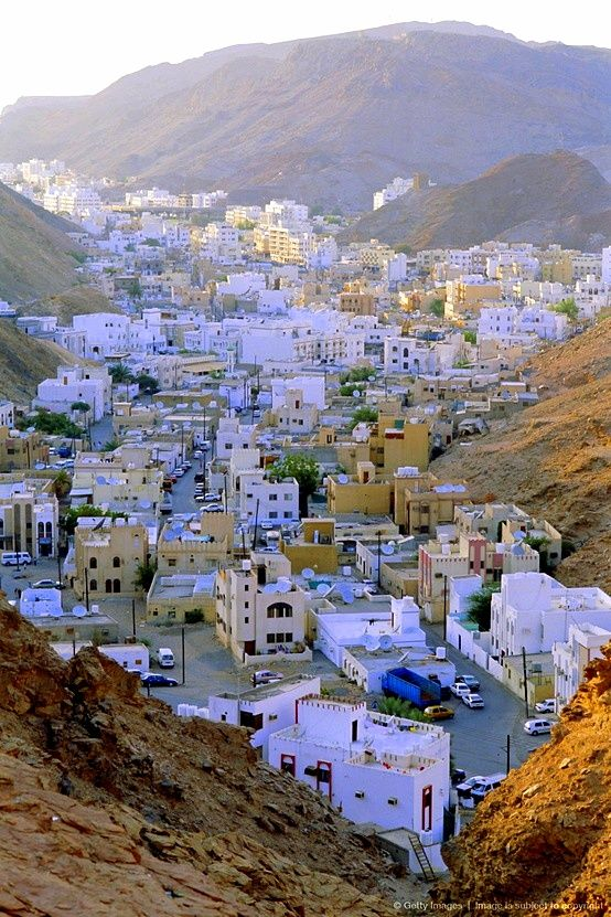 The old quarter, Muscat, Oman.. Best experienced during early morning drives