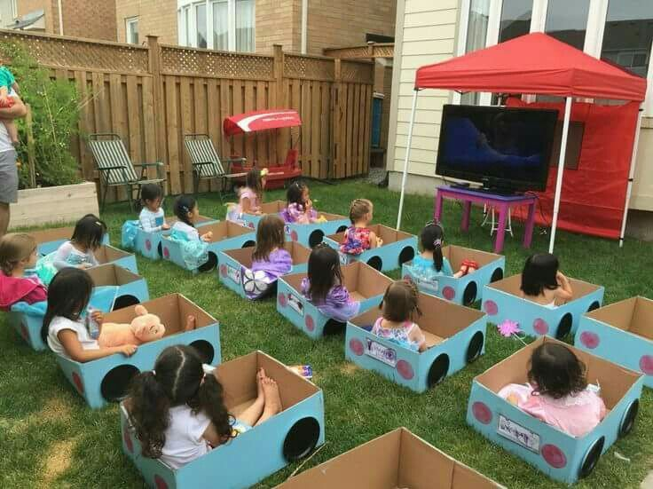 Fun Idea For A Child S Birthday Or Just Summer Parties Movie