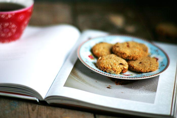 Sinaasappel-cranberry koekjes • Proeven met liefde
