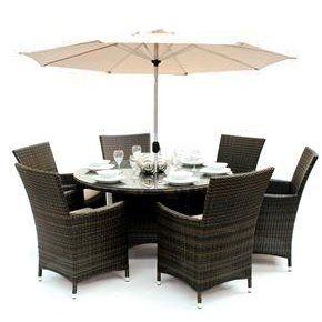 maze rattan la 6 seat rattan garden furniture set maze rattan garden furniture http
