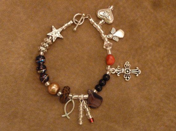 Life of Jesus Bracelet With Story 7 1/2 by sunshinesu54 on Etsy, $17.00