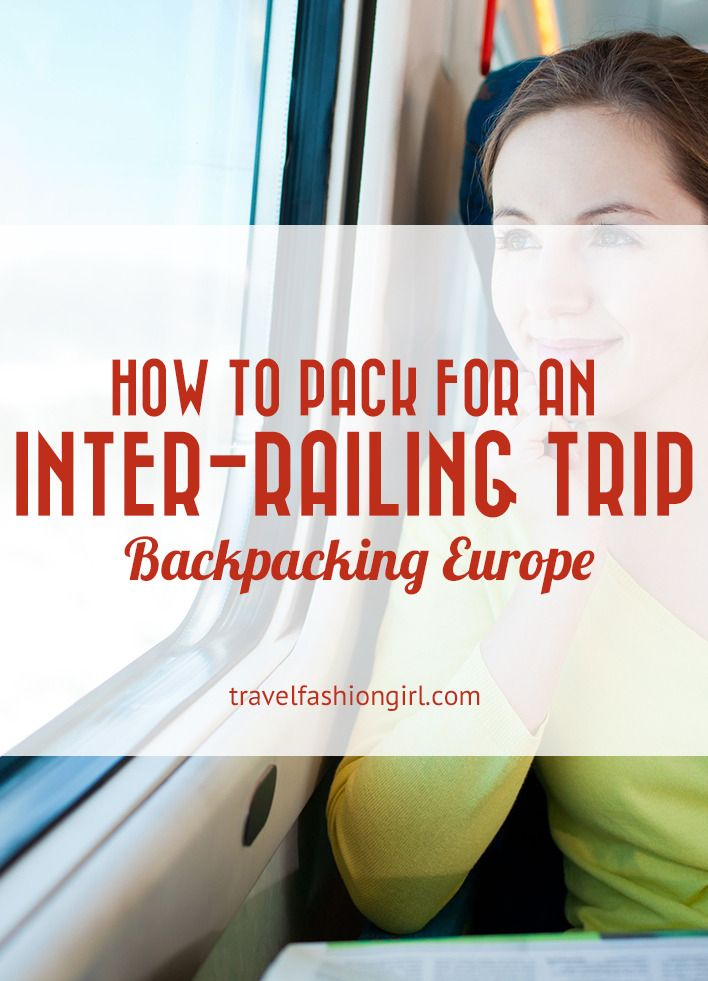 Hope this packing list helps you plan how to pack for an inter-railing trip backpacking Europe. Don't forget to share the love on Facebook, Twitter and Pinterest. Thanks for reading!