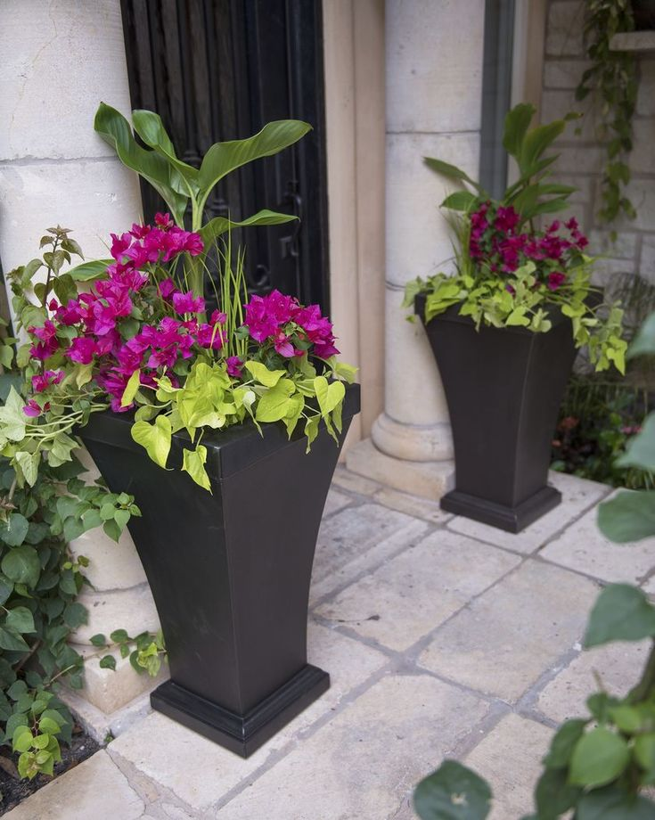 Urn Planters - Bordeaux Tall Resin Planter - Black Urn Planters - Best 25+ Urn Planters Ideas On Pinterest Urn, Garden Pots Ideas