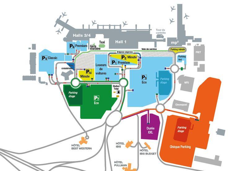 Stationnement Parking - Parking - Aéroport de Marseille Provence