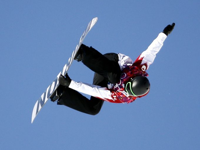Canada's Mark McMorris at the slopestyle finals