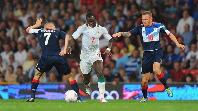Senegal team takes on Team GB
