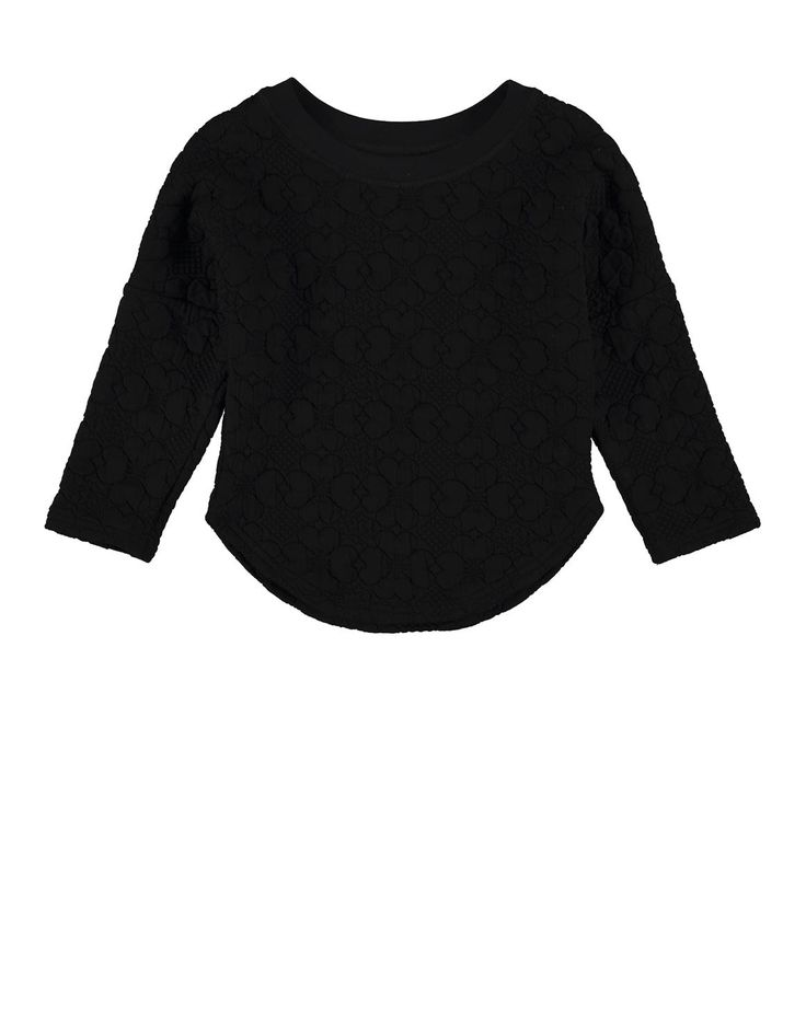 Quilted Dolman Pullover