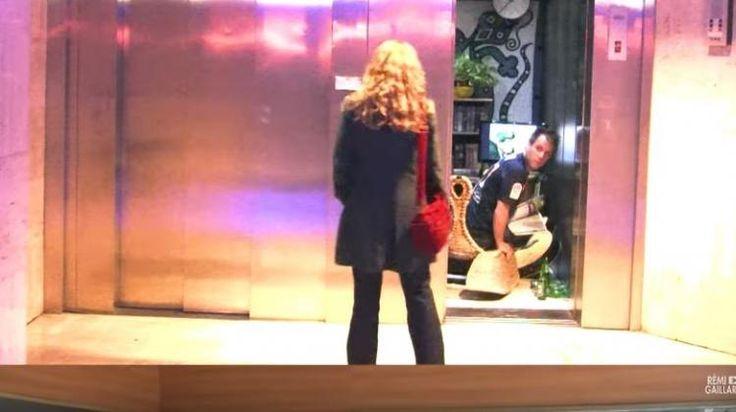 Οι απίστευτες φάρσες του Ρεμί στα ασανσέρ (Βίντεο)