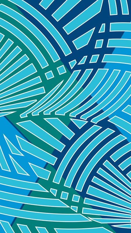 Flowing Argyle by Margaret Perez (Surf, Beach & Summer Illustrations, Print & Pattern)  See more at www.margaretperez.com #margaretperez #illustrations #printpattern #graphic #beach #summer #argyle #fashion #blue #teal #tropical