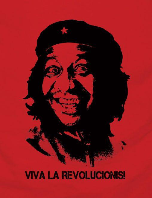"""""""Che Guevaris"""" - Montagem feita a partir da imagem do Mussum"""