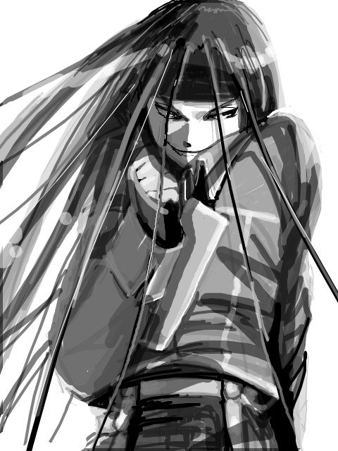 Envy from Fullmetal Alchemist. I hate him.