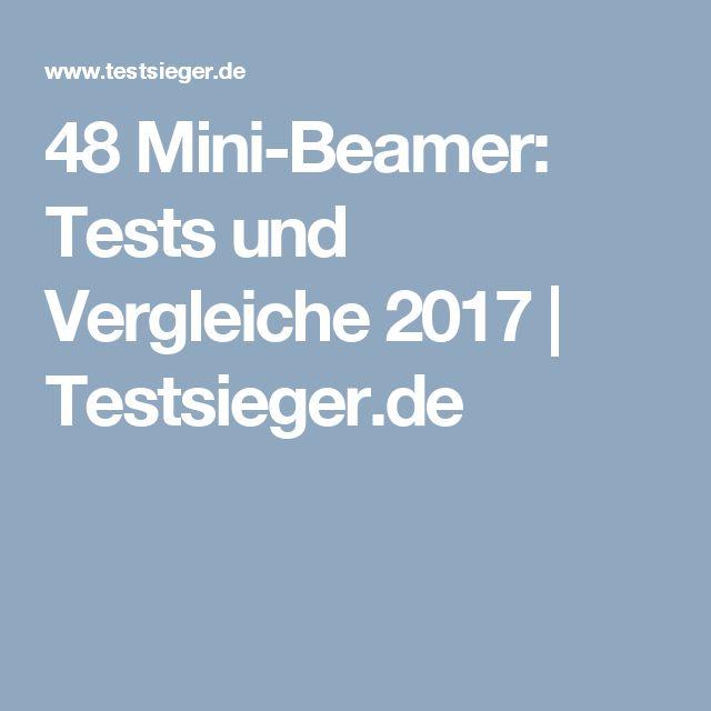 48 Mini-Beamer: Tests und Vergleiche 2017 | Testsieger.de