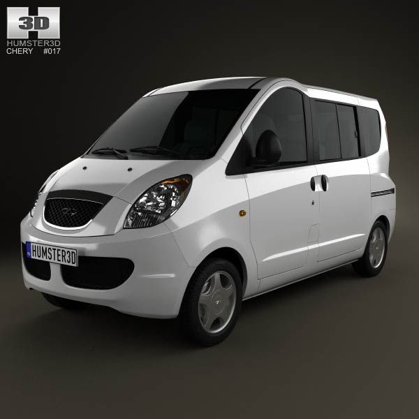 Chery Riich II (S22) 2012 3d model from humster3d.com. Price: $75