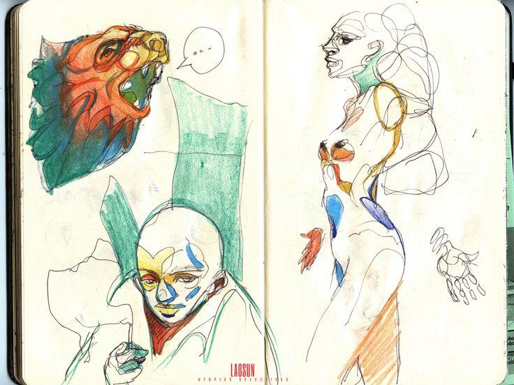 Moleskine Sketch 2013