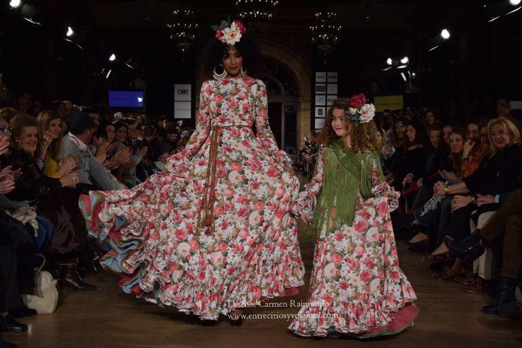 trajes de flamenca con vuelo 2016