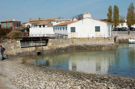 Ile de Ré -le moulin à marée-Loix