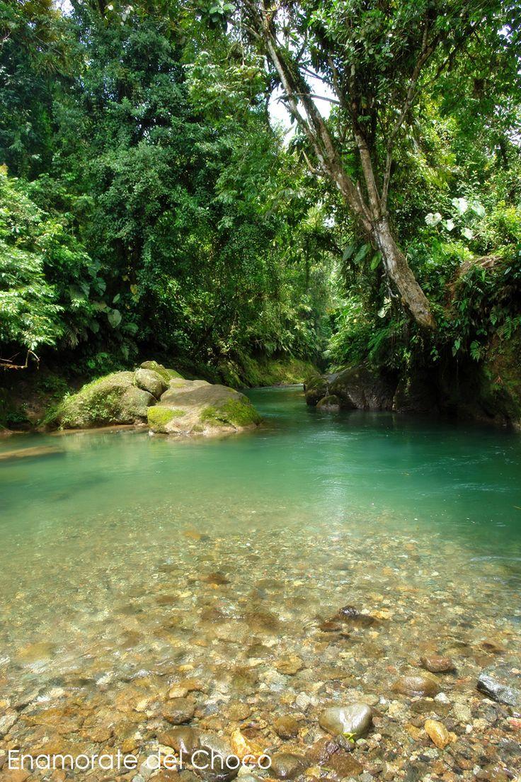 Limites de Chocó Con Risaralda Colombia