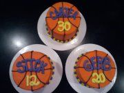 Senior Night Basketball Cakes