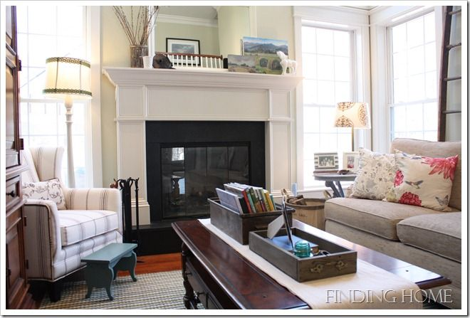 Home Tour: Family Room - Finding Home