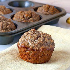 Healthy Banana Muffins | Kim's Healthy Eats