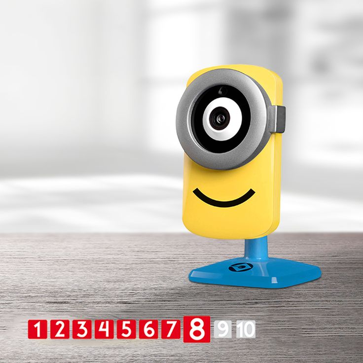 Top review 8/10 for the Stuart cam. #stuart #tend #lifestylestore #minions #security #camera https://goo.gl/sXK6Nd