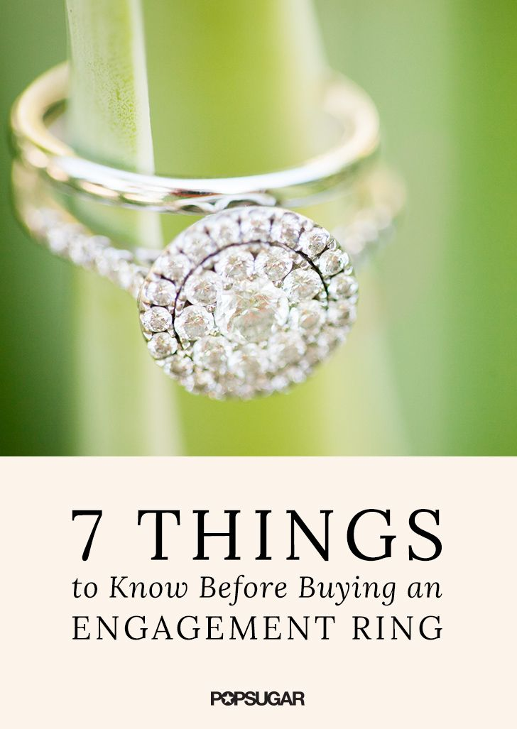 The engagement ring may be one of the biggest expenses of your wedding, and as with buying any big-ticket item, you need to do your homework. We tapped Jerry Ehrenwald, the president of the International Gemological Institute, for some quick guidelines on what couples need to do when they're buying an engagement ring.