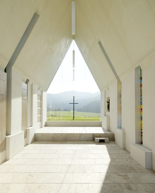 Chapel Maria Magdalena by Sacher Locicero architects  ideasgn