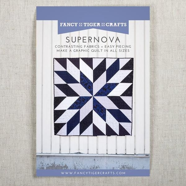 Supernova Quilt Pattern - Fancy Tiger Crafts