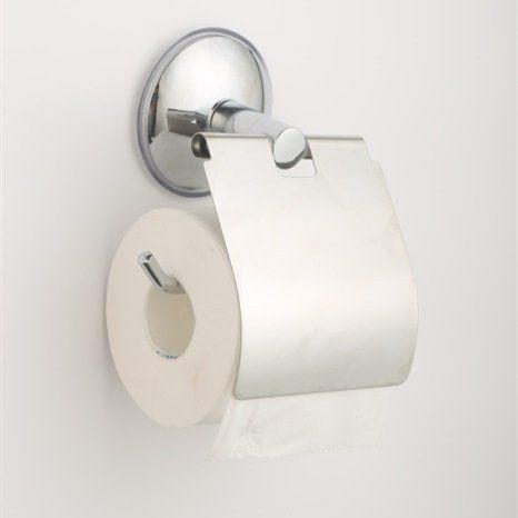 MUMENG Edelstahl Starke Saugnapf Papier hand tuchhalter Toiletten papier halter