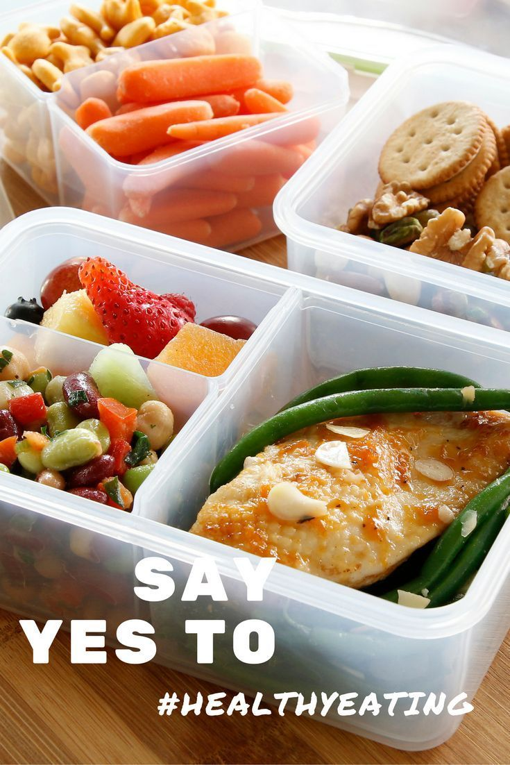 Bento Lunch Box Meal Prep Containers #healthylifestyle #mealprep #healthyeating #promotehealthylifestyle