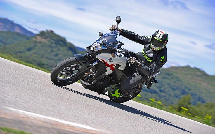Honda CB500X menetpróba