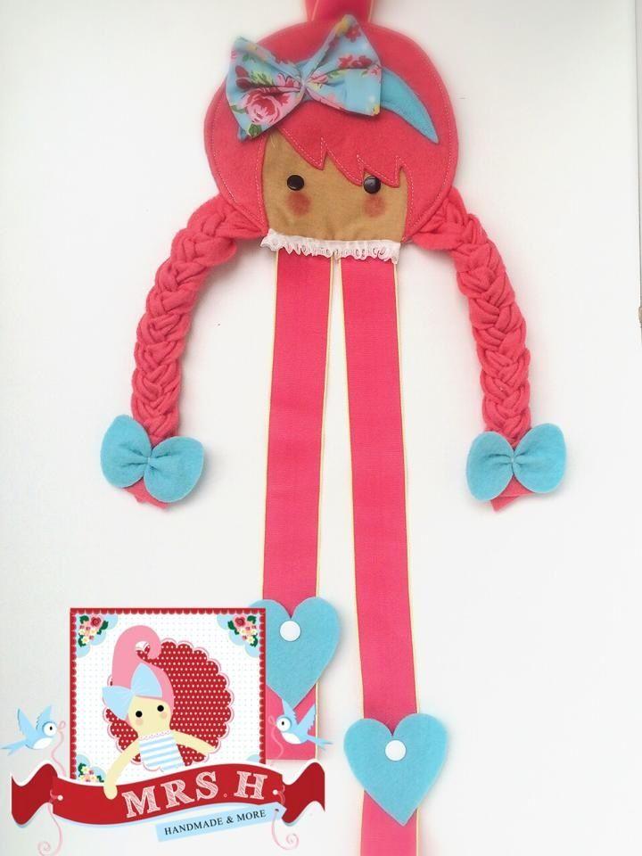 Image of Barrette-belle hair clip holders
