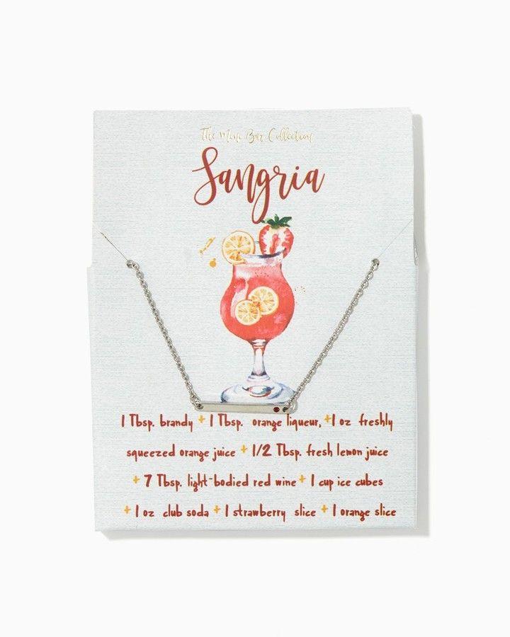 how to create a sangria bar