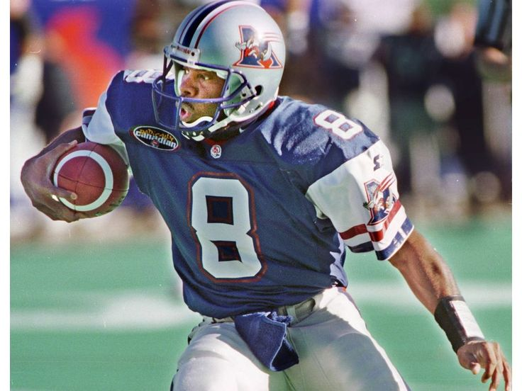 QB Tracy Ham of the Montreal Alouettes in 1998