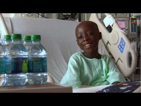Joshua on the 2012 All Children's Hospital Telethon - Joshua faced a lifetime of pain and complications from sickle cell disease until his sister gave him the gift of a new life through a bone marrow transplant.