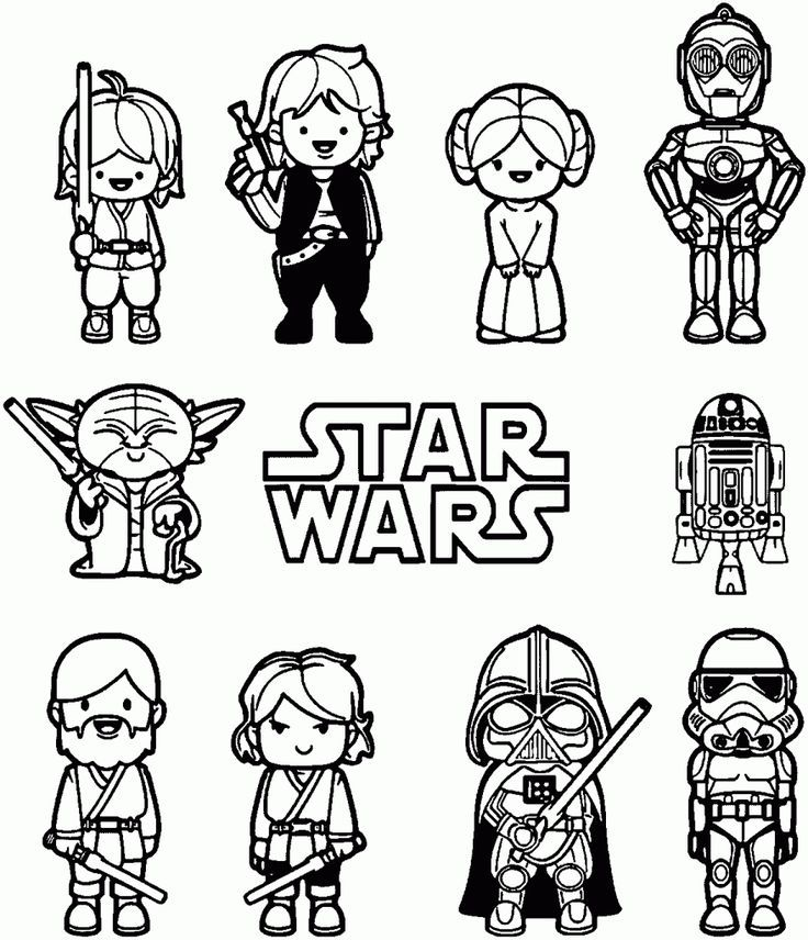 Star Wars Coloring Pages Free Printable Star Wars Coloring Pages Star Wars Coloring Book Star Wars Coloring Sheet Star Wars Cartoon