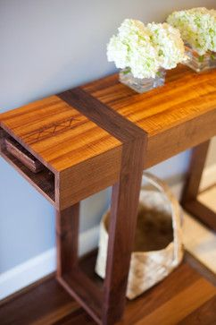 Wood Entryway Table