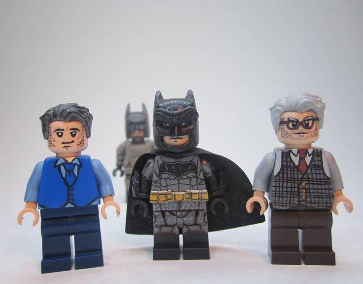 Unique Batman Vs Superman Bedroom Ideas That Rock: Batman Vs Superman Figures So Far #Lego #custom #superhero