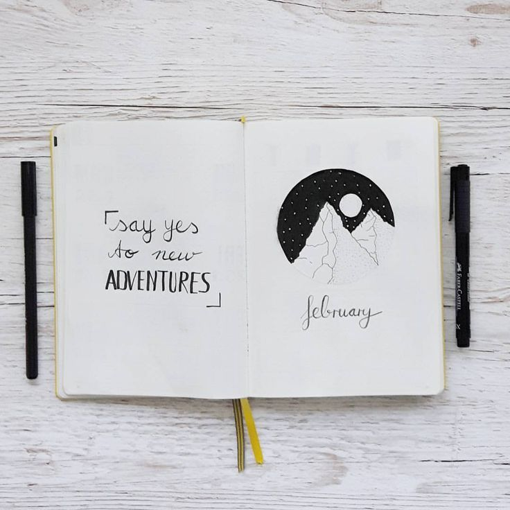My title page for february. I added a quote to the left side #bujo #bulletjournal #bulletjournaling #planner #planning #planwithme #germanbujojunkies #leuchtturm1917 #leuchtturm1917notebook #bulletjournallayout