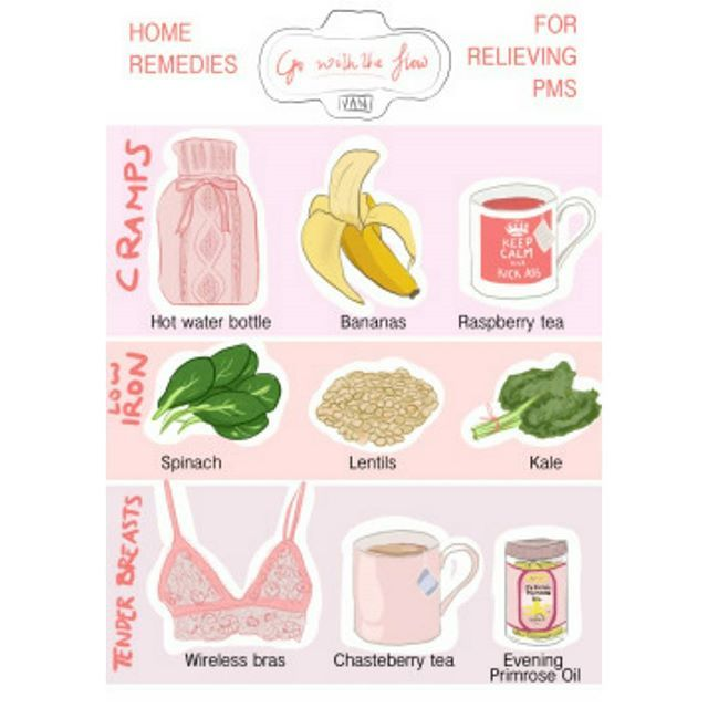 It's less than a week before my #period and I am getting #pms something fierce! I never really got it until last year..and I actually found an #infographic that shows exactly what I use to help me with it! I would add that I also use #magnesium tablets,  #coconutwater , #epsomsalts , and #floradix #iron . #selfcare #menses #menstrualcycle #menstrual #pmdd #auntflo #flow #natural #healthy #endometriosis #endo #endowarrior #bloating #chronicillness #chronicpain #chronicfatigue…