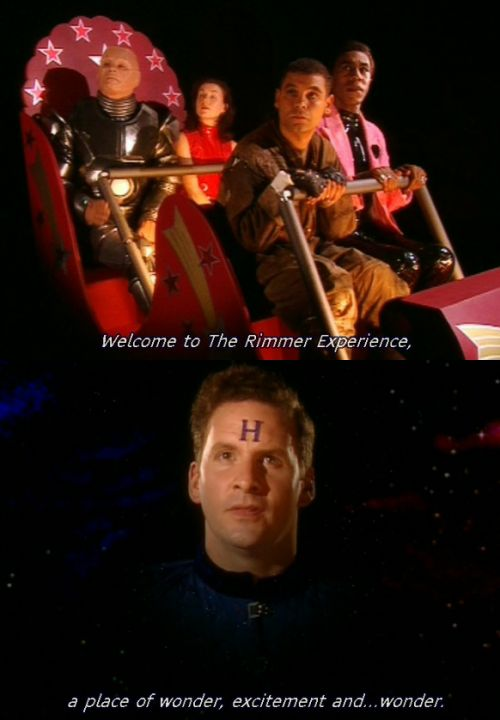Christ have mercy... #reddwarf #rimmer #mobc