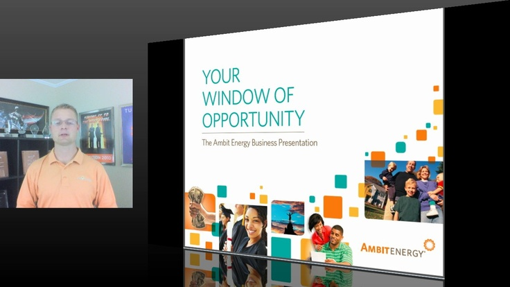 Ambit Energy >> Live Ambit Energy business presentation with Shawn Cornett presenting from his home office in St ...
