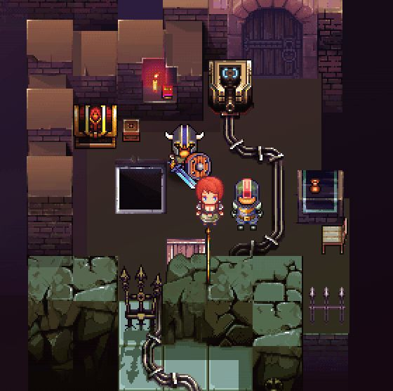Awesome animated dungeon tiles from tigsource