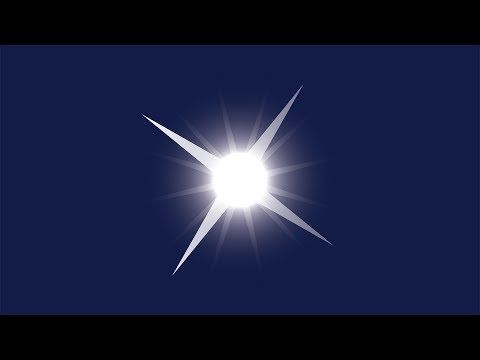 How to Draw a Sparkling Star in Adobe Illustrator - YouTube