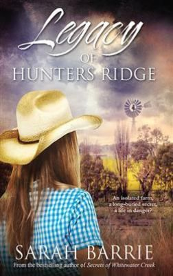 Successful horse trainer Alissa Morgan-Jones has the world at her feet, until a tragic fire destroys everything. Widowed, in debt and under suspicion for arson, Alissa's life is in tatters. Her mother-in-law's isolated farm gives her the opportunity to pull her life back together and get herself back on her feet...