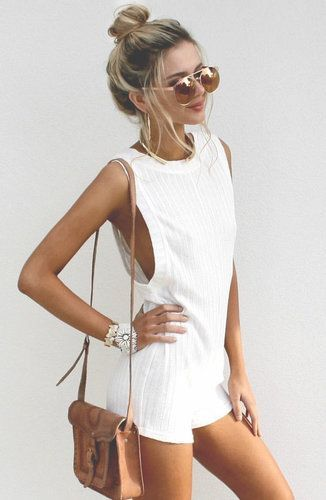 #summer #fashion / jumpsuit
