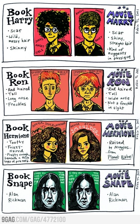 Harry Potter: Book vs Movie