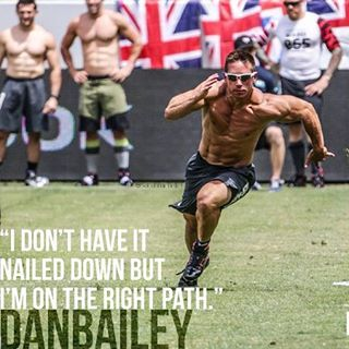 """""""I don't have it nailed down but I'm on the right path."""" Dan Bailey"""