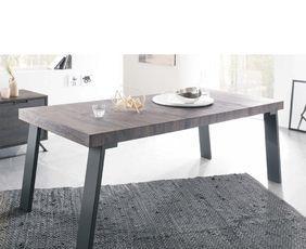 Tavolo in legno finitura wenge