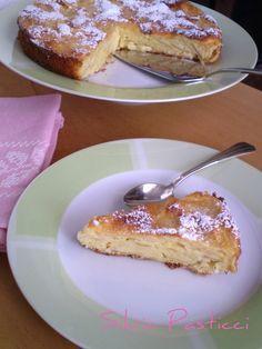Torta di mele senza grassi. Una torta tutta mele.